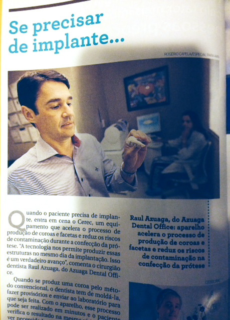 Entrevista para revista Metrópole - 16/10/2011